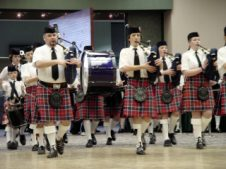 Band competes at Winnipeg Scottish Festival